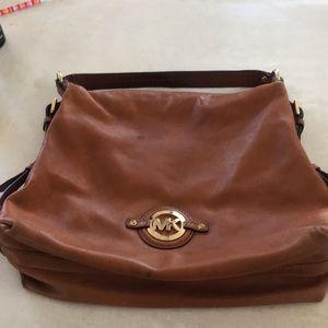 Brown Leather Micheal Kors hobo/ Shoulder bag